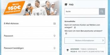 Wett-Meister gesucht: Bei Wetten.com geht es um Tickets für die Bundesliga
