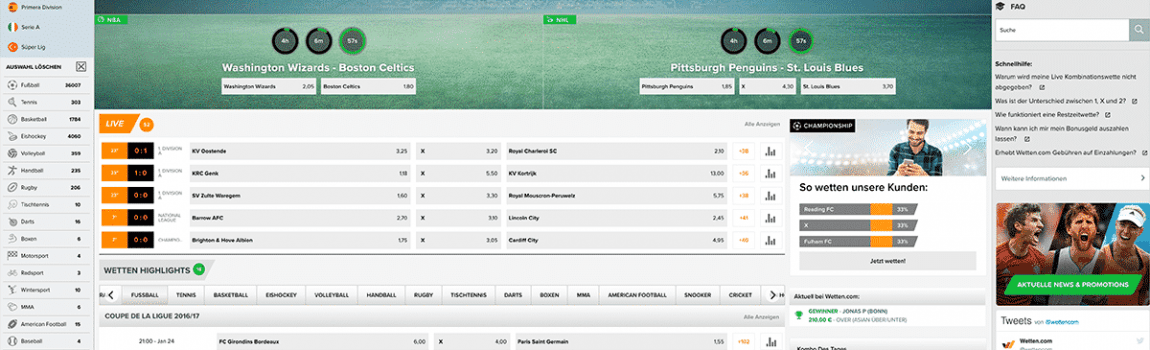 Bei Wetten.com 20 Prozent Cashback auf DFB-Pokal