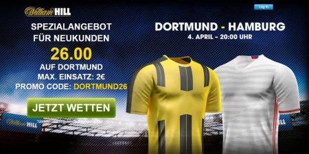 Bonus von William Hill auf Wette auf RB Leipzig