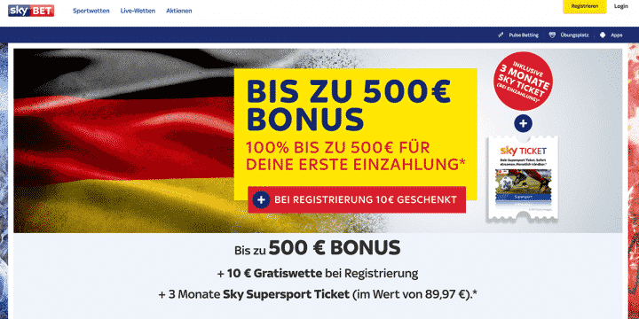 Sky Bet Wm 2018 Wettbonus