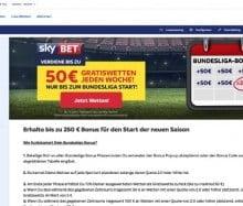 Bei Sky Bet einen Bundesliga-Bonus sichern