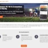 Betsson - 40€Live-Wetten fürs Handy sichern