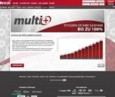 Gewinne mit Multi+ bis zu 100% zusätzlich bei Betclic