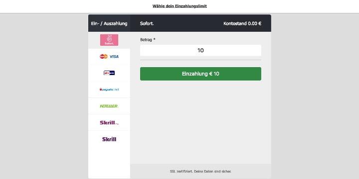 MoPlay Zahlungen