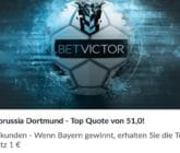 Mit der Top Quote von 51 auf den Sieg von Bayern gegen Dortmund wetten