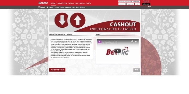 Cashout Betclic