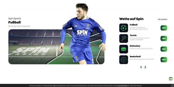 Fußballwetten Spin Sports