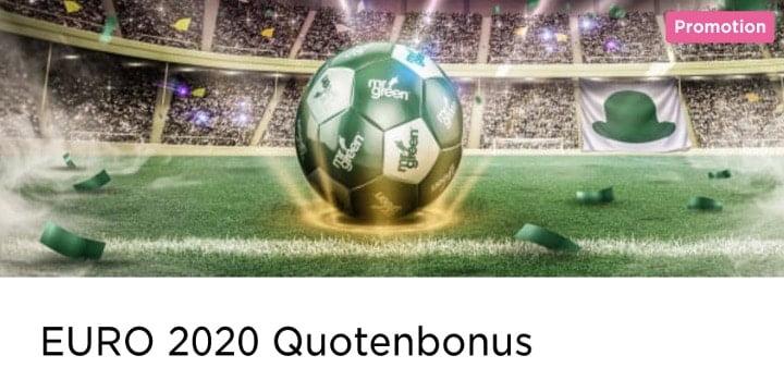 Sichere dir den Quotenbonus von Mr Green für EM-Qualifikation 2020 Wetten